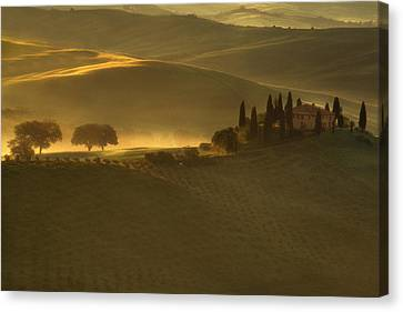 Tuscan Farmhouse Canvas Print