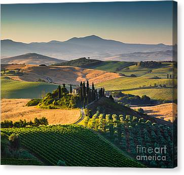 Tuscan Morning Canvas Print by JR Photography