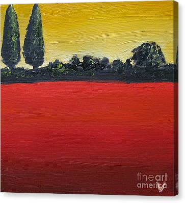 Tuscan Sunrise Canvas Print by Venus