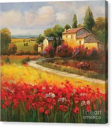 Tuscan Villa  Canvas Print