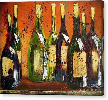 Vino Canvas Print - Tuscan Wine by Jodi Monahan