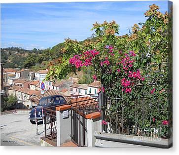 Tuscany Hills Canvas Print by Ramona Matei