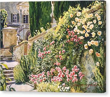 Tuscany Impressions Canvas Print by David Lloyd Glover