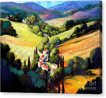 Tuscany Canvas Print by Michael Swanson