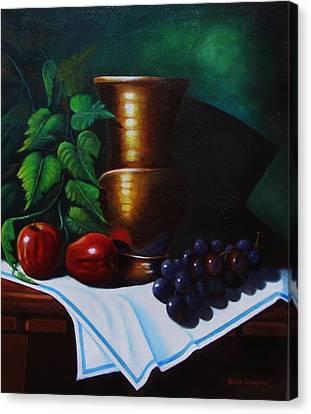 Tuscany Still Life Canvas Print