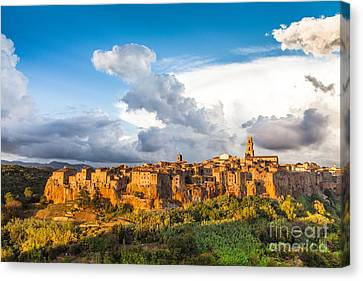 Tuscany Sunset Canvas Print by JR Photography