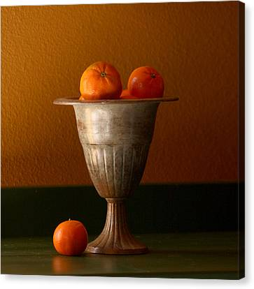 Tuscany Tangerines Canvas Print