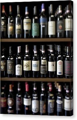 Tuscany Wineshop Canvas Print by Al Hurley