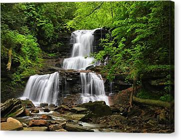 Tuscarora Falls Canvas Print by Mike Farslow
