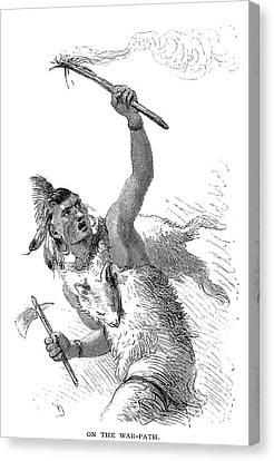 Tuscarora Warrior Canvas Print