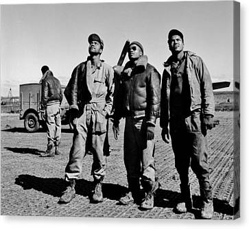 Tuskegee Airmen Canvas Print by Benjamin Yeager