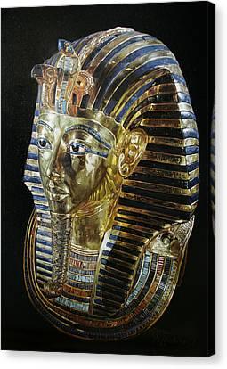 Tutankamon's Golden Mask Canvas Print by Leena Pekkalainen