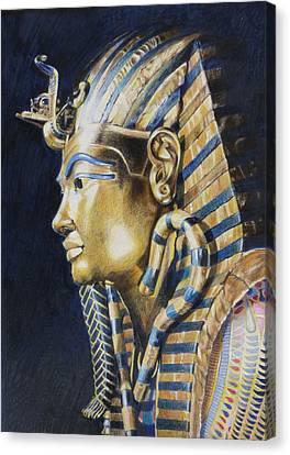 Tutankhamon Canvas Print by Constance Drescher