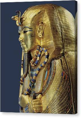 Tutankhamuns Second Sarcophagus. 1333 Canvas Print