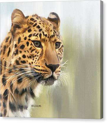 Tutku Canvas Print by Greg Collins
