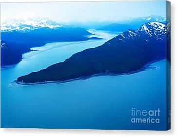 Tuxedni Bay And Chisik Island Canvas Print by Thomas R Fletcher