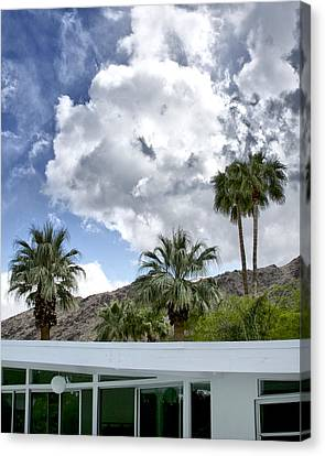 Tuxedo Circle Afternoon Palm Springs Canvas Print by William Dey