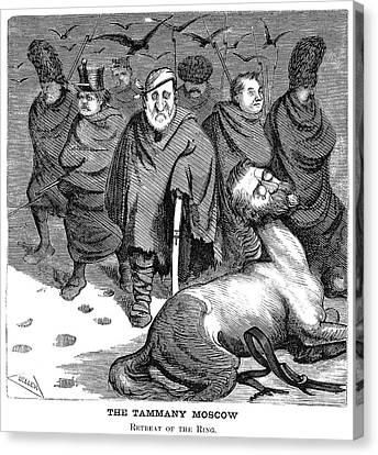 Tweed Cartoon, 1871 Canvas Print by Granger