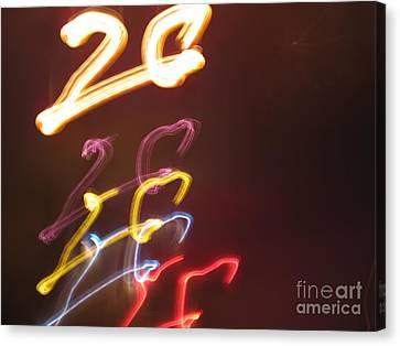 Canvas Print featuring the photograph Twenty by Ausra Huntington nee Paulauskaite