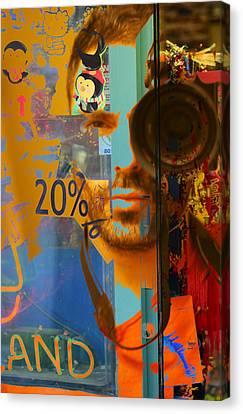 Twenty Percent Of Creativity  Canvas Print by Empty Wall