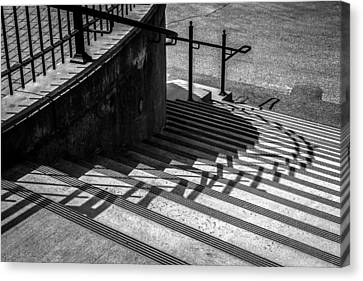 Twenty Steps Canvas Print by Bob Orsillo