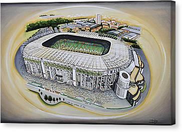 Twickenham Rugby Stadium Canvas Print
