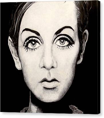 Twiggy Canvas Print by Austin Angelozzi