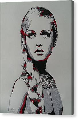 Twiggy Canvas Print by Kevin Wood