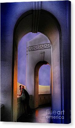 Twilight Arches Canvas Print