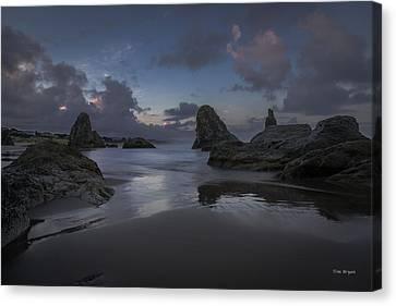 Twilight At Bandon Canvas Print by Tim Bryan