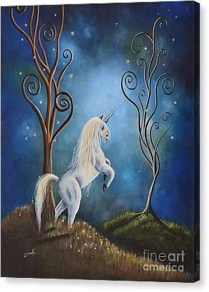 Twilight By Shawna Erback Canvas Print by Shawna Erback