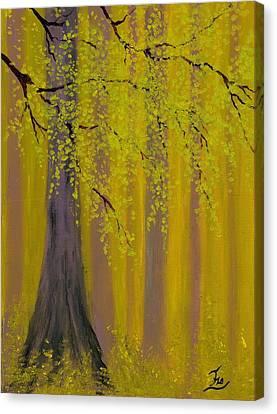 Twilight Forest 1 Canvas Print