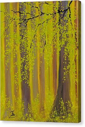 Twilight Forest 2 Canvas Print
