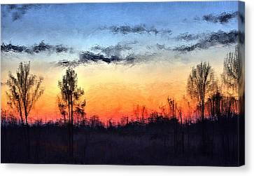 Twilight In Jackson Canvas Print by Terence Morrissey