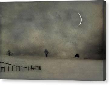 Twilight Canvas Print by Kathy Jennings