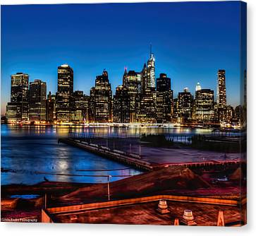 Canvas Print featuring the photograph Twilight Of Honor by Linda Karlin
