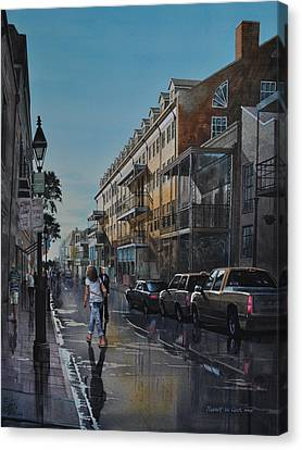 Twilight On Royal Canvas Print
