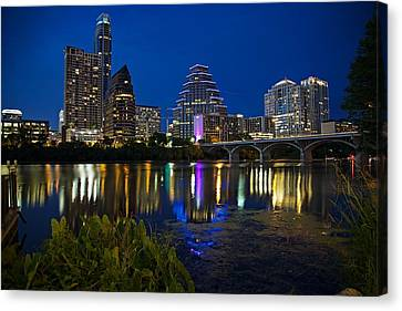 Twilight Reflections Canvas Print