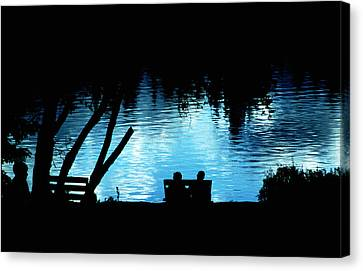 Canvas Print featuring the photograph Twilight Reverie by Mike Flynn