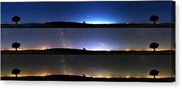 Twilight Sequence Canvas Print by Laurent Laveder