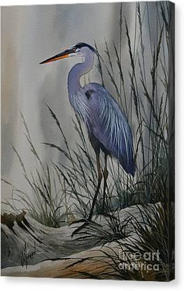 Twilight Shore Canvas Print by James Williamson
