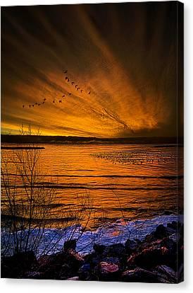 Twilight Sonnet Canvas Print by Phil Koch