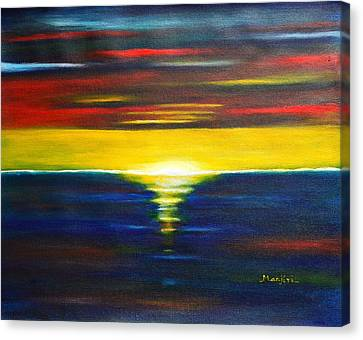Twilight Sunset Canvas Print