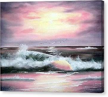 Twilight Surf Canvas Print
