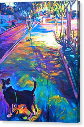 Scout At Twilight Canvas Print