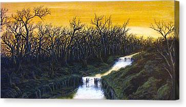 Twilight's Last Breath Canvas Print by Pheonix Creations