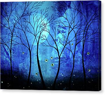 Twilights Moon Canvas Print by Jaime Best