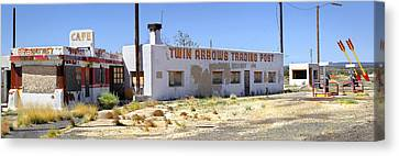 Twin Arrows Trading Post Canvas Print by Mike McGlothlen