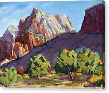 Twin Brothers Vista Canvas Print by Patricia Rose Ford