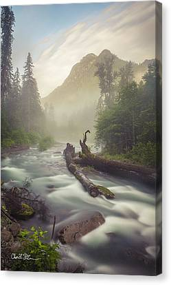 Twin Peaks Canvas Print by Charlie Duncan